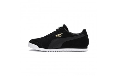 Black Friday 2020 Puma Roma Suede Sneakers Black- Black Outlet Sale