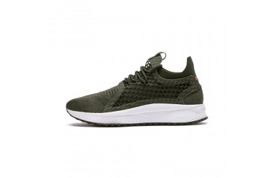 Black Friday 2020 Puma TSUGI NETFIT v2 evoKNIT Sneakers ForestNight-Black-Firecracke Outlet Sale