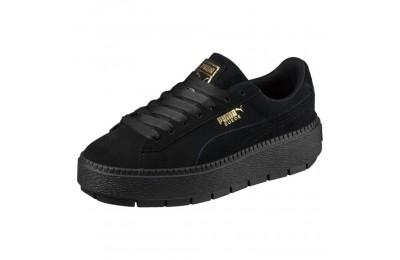 Puma Platform Trace Women's Sneakers Black- Black Outlet Sale