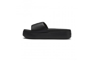 Puma Platform Slide Women's Sandals Black- Black Outlet Sale