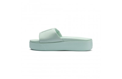Black Friday 2020 Puma Platform Slide Women's Sandals Fair Aqua-Fair Aqua Outlet Sale