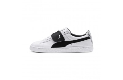 Black Friday 2020 Puma PUMA x KARL LAGERFELD Suede Classic Sneakers White- Black Outlet Sale