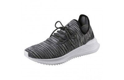 Puma AVID evoKNIT Summer Running Shoes P Black-QUIET SHADE-P White Outlet Sale