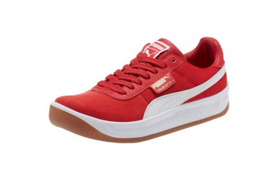 Puma California Casual Sneakers Ribbon Red- White Outlet Sale