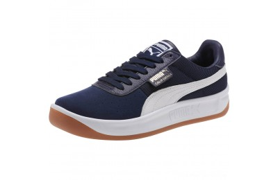 Black Friday 2020 Puma California Casual Sneakers Peacoat- White Outlet Sale