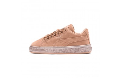 Puma Suede Classic X-Chain Preschool Sneakers Dusty Coral-Rose Gold Outlet Sale
