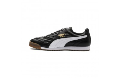 Puma Roma Anniversario Sneakers Black- White Outlet Sale