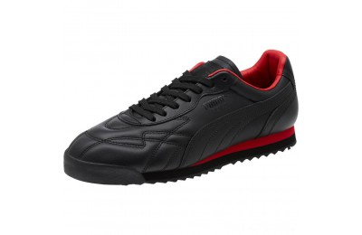 Black Friday 2020 Puma Roma Anniversario Sneakers Black-High Risk Red Outlet Sale