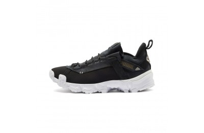 Black Friday 2020 Puma Trailfox Running Shoes Black- White Outlet Sale