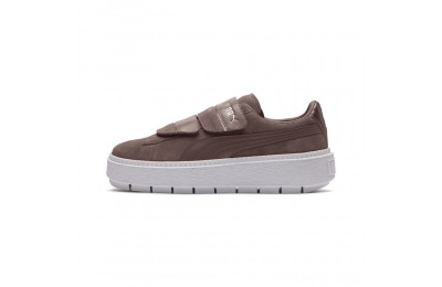 Puma Platform Trace Strap Esc Women's Sneakers Peppercorn-Peppercorn Outlet Sale