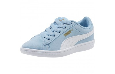 Black Friday 2020 Puma PUMA Vikky AC Sneakers PSCERULEAN-White-Metallic Gold Outlet Sale