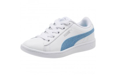 Black Friday 2020 Puma Puma Vikky Glitz FS AC Preschool Sneakers White-CERULEAN-Silver Outlet Sale