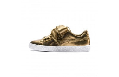 Puma Basket Heart Luxe Women's Sneakers Ermine-Ermine Outlet Sale