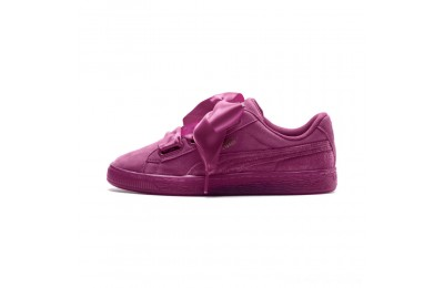 Black Friday 2020 Puma Basket Heart Lunar Glow Wn'sMagenta Haze-Magenta Haze Outlet Sale