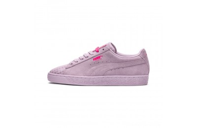 Black Friday 2020 Puma Suede Classic Street 2 Women's Sneakers Wins Orchid- Aged Silver Outlet Sale
