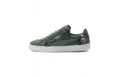 Puma Suede Classic Autumn Bloom Women's Sneakers Laurel Wreath-Laurel Wreath Outlet Sale