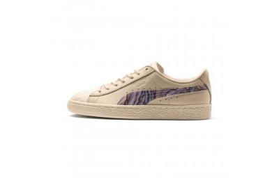 Black Friday 2020 Puma Basket Classic Mimicry Women's Sneakers Vanilla Cream-Vanilla Cream Outlet Sale