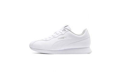 Black Friday 2020 Puma Turin II JR Sneakers White- White Outlet Sale