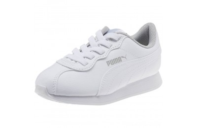 Puma Turin II AC Preschool Sneakers White- White Outlet Sale