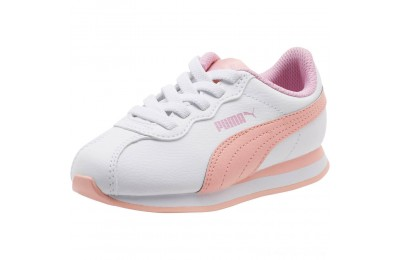 Black Friday 2020 Puma Turin II AC Preschool Sneakers P.White-Peach Bud-Pale Pink Outlet Sale