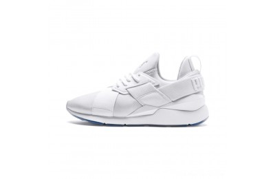 Black Friday 2020 Puma Muse Ice Women's Sneakers White- White Outlet Sale
