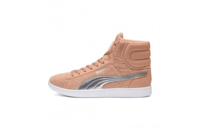 Puma Puma Vikky Mid Cord Women's Sneakers Dusty Coral- Silver Outlet Sale