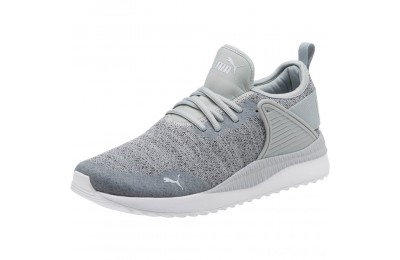 Puma Pacer Next Cage Knit Premium Men's Sneakers Quarry-Iron Gate Outlet Sale