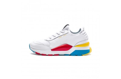 Puma RS-0 Play JR Sneakers White- White-White Outlet Sale
