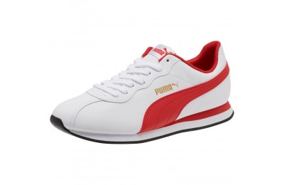 Puma Puma Turin II Sneakers White-High Risk Red Outlet Sale