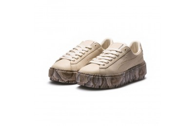 Black Friday 2020 Puma Platform Trace Mimicry Women's Sneakers Vanilla Cream-Vanilla Cream Outlet Sale