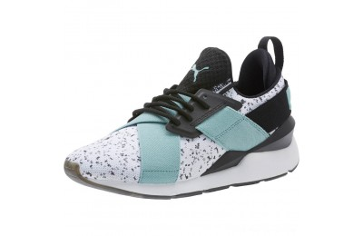 Black Friday 2020 Puma Muse Solst Women's Sneakers White-Aquifer-Black Outlet Sale