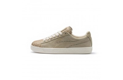 Puma Suede Made in Italy Women's Sneakers Birch- Team Gold Outlet Sale