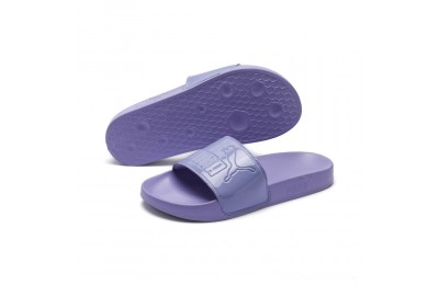 Black Friday 2020 Puma Women's Leadcat Patent Slide Sandals Sweet Lavender Outlet Sale