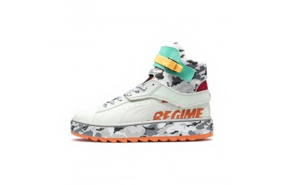 Black Friday 2020 Puma PUMA x ATELIER NEW REGIME Ren BootsGreen Lily-Gray Violet Outlet Sale