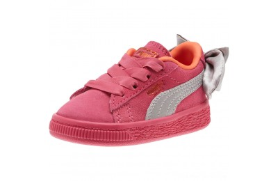 Black Friday 2020 Puma Suede Bow Infant Sneakers Fuchsia Purple-Nasturtium Outlet Sale