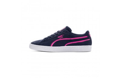 Black Friday 2020 Puma Suede Classic X-Hollows Sneakers Peacoat-PINK-White Outlet Sale