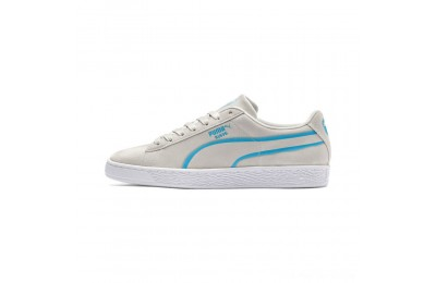 Black Friday 2020 Puma Suede Classic X-Hollows Sneakers Gray-Hawaiian Ocean- White Outlet Sale