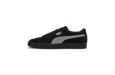 Black Friday 2020 Puma Suede Classic Kurim Sneakers Black- White Outlet Sale