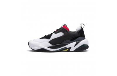 Puma Thunder Spectra Men's Sneakers Black-High Risk Red Outlet Sale
