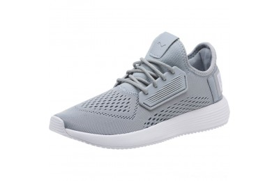 Puma Uprise Mesh Men's Sneakers Quarry-White-White Outlet Sale