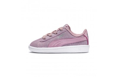 Puma PUMA Vikky Glitz AC Sneakers INFPale Pink-Pale Pink Outlet Sale