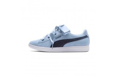 Black Friday 2020 Puma Puma Vikky Ribbon JR Sneakers CERULEAN-Peacoat Outlet Sale
