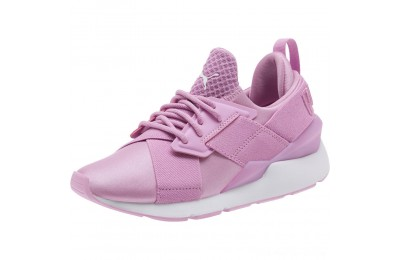 Puma Muse JR Sneakers Orchid-Orchid Outlet Sale