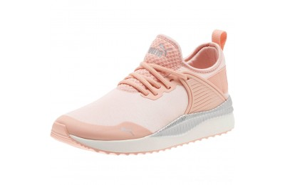 Puma Pacer Next Cage ST2 Women's Sneakers Peach Bud- Silver Outlet Sale