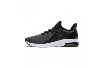Puma Electron Street Knit Sneakers Black-Iron Gate Outlet Sale