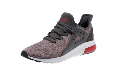 Black Friday 2020 Puma Electron Street Knit Sneakers Iron Gate-Ribbon Red Outlet Sale