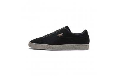 Black Friday 2020 Puma Suede Classic Lunar Glow Sneakers Black-Bronze-Elephant Skin Outlet Sale
