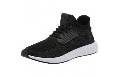 Puma Uprise Knit Men's Sneakers Black-Iron Gate-White Outlet Sale