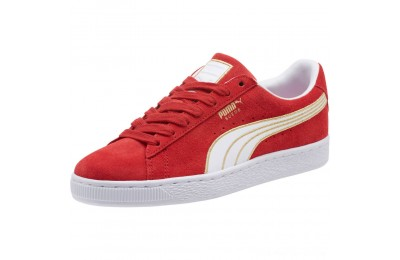 Puma Suede Varsity Women's Sneakers Ribbon Red- White Outlet Sale