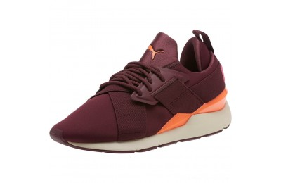 Puma Muse Chase Women's Sneakers Fig-Shocking Orange Outlet Sale